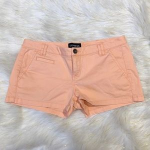 Express Peach Booty Shorts 2